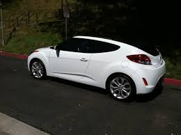 Fs Ca Los Angeles 2012 Veloster Style Pkg White Red