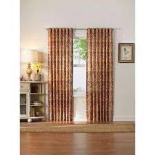 Orange And Beige Curtains Orange Curtains U0026 Drapes Window Treatments The Home Depot