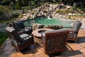 Backyard Pool With Slide - swimming pool slides bringing waterpark thrills home