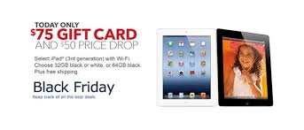 target 64gb black friday best ipad 2 black friday deal 75 gift card with purchase