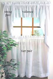 Cafe Tier Curtains 45 Inch Curtains Thecurtainshop