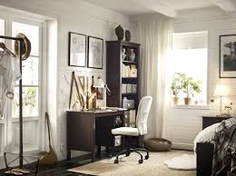 Ikea Home Office Hacks Ilea Office Elegant Ikea Hack With Builtin Billy Bookcases How We