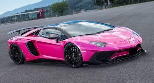 lamborghini aventador pink liberty walk lamborghini aventador sv is oh so pink