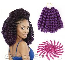 Curly Braiding Hair Extensions by 8 10inch Jumpy Wand Curl Crochet Braids Crochet Hair Extensions