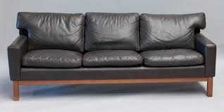 Black Leather Mid Century Sofa Best Leather Mid Century Sofa Kardiel Jackie Mid Century Modern