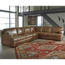 Ashley Sofa Leather by Signature Design By Ashley Vincenzo Leather Match 3 Piece