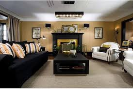 Black And Gold Room Decor Modern Black And Gold Living Room Decor Fantastic White Within