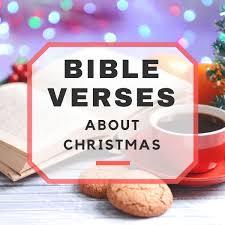 christmas bible verses to share