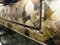 Slate Backsplash In Kitchen by Backsplash With Ubatuba Countertop Google Search Kitchen Ideas