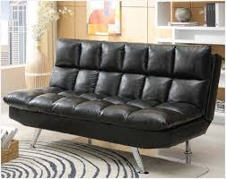 Leather Like Sofa American Freight Black Leather Tufted Sofa Black Plush Leather