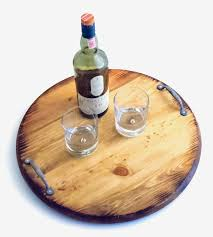 Wine Barrel Home Decor Wine Barrel Serving Tray Home Decor U0026 Lighting O U0027floinn Decor