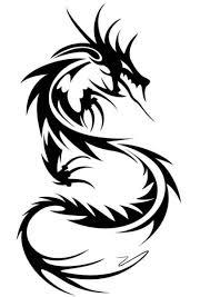 dragon tattoos black tribal dragon tattoo stuff pinterest