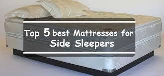 best mattress for side sleeper 5 best mattress for side sleepers
