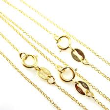 gold chain necklace sizes images 22k gold plated over sterling silver necklace vermeil chain gold jpeg