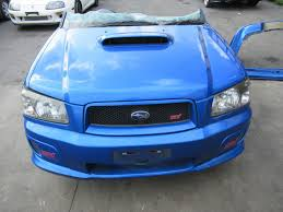 jdm subaru forester jdm front clips 2003 2005 jdm subaru forester sti sg9 front clip