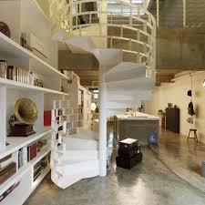 Industrial Loft Design by Chic Industrial Loft Design Idea Showcases Original Elements