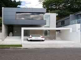 Minimalist House Modern Architecture Minimalist House With Black Facade Design