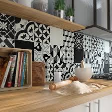 cr馘ence cuisine carreaux de ciment un effet carreaux de ciment dans ma cuisine leroy merlin