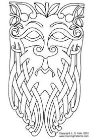 celtic norse pattern www carvingpatterns com craft project