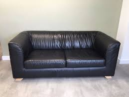 fulham leather sofa for sale second hand black leather sofa for sale 25 00 in fulham london