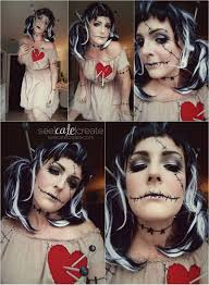 voodoo doll makeup u2026 halloween pinterest voodoo doll makeup