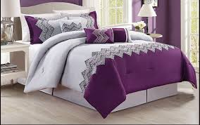 Palm Tree Bedspread Sets Black And Purple Comforter Bedding U2013 Ease Bedding With Style