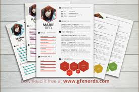 Creative Resumes Templates Resume Template Creative Download Free Psd File With 79