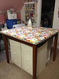 quilting ironing board table edge to edge quilting inc sewing room ideas