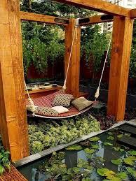 summer spirit 25 cool outdoor hangouts with a hammock