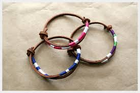 make bracelet with leather cord images 30 must make diy bracelets jpg
