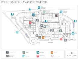 Map Mall Of America Natick Mall Map Map Of Natick Mall United States Of America