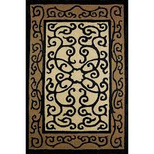 3 X 5 Indoor Outdoor Rugs Fencework Indoor Outdoor Rug 3 X 5