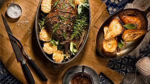 roast leg of lamb with shrewsbury sauce good food channel