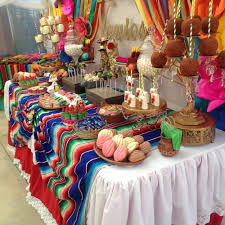 fiesta mexican bridal wedding shower party ideas shower party
