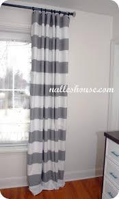 grey and white striped curtains design targovci com