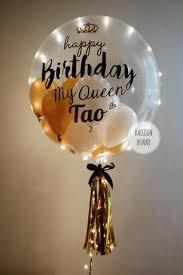 balloon in a box delivery usa happy birthday led balloon box giftr malaysia s
