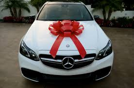 new car gift bow car bow with magnetic base water resistant bow large bow