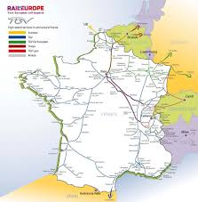 Lourdes France Map by France U0026 Paris Train Rail Maps