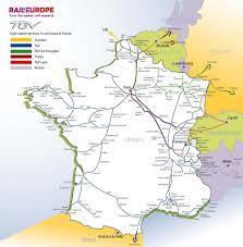 Lille France Map by France U0026 Paris Train Rail Maps