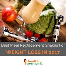 best meal replacement shakes for weight loss in 2017 reviews