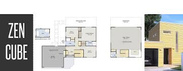 zen cube 3 bedroom garage house plans new zealand ltd ten