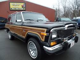 jeep wagoneer 1989 1984 jeep grand wagoneer 4x4 suv for sale in johnstown pa