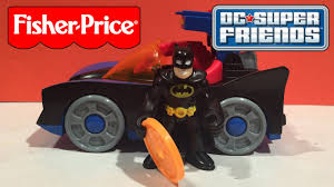 imaginext batmobile with lights dc super friends batmobile with lights fisher price imaginext