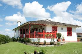 traditional colombian farm house stock photo picture and royalty