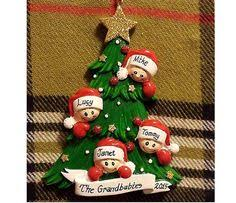 personalized christmas ornament 4 kids by personalizestation