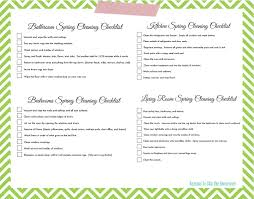 The Rug Doctor Coupons 11 Free Printable Checklists To Help You Conquer Spring Cleaning