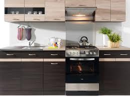 Billige K Henblock Küche Küchenzeile Junona 240cm Eiche Sonoma Wenge 317 95