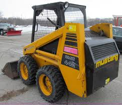 mustang 442 skid steer item d7069 sold thursday january