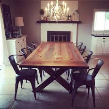 reclaimed wood furniture farmhouse dining tables industrial