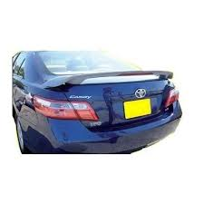 2007 toyota camry spoiler unpainted 2007 2011 toyota camry spoiler custom style products